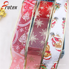 Organza Christmas Decoration Ribbon